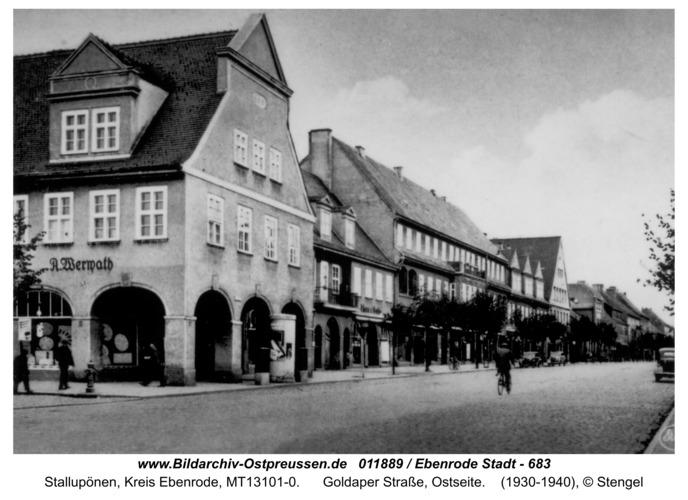 Ebenrode, Goldaper Straße