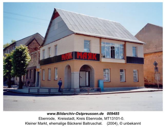 Ebenrode, Kleiner Markt, 2004