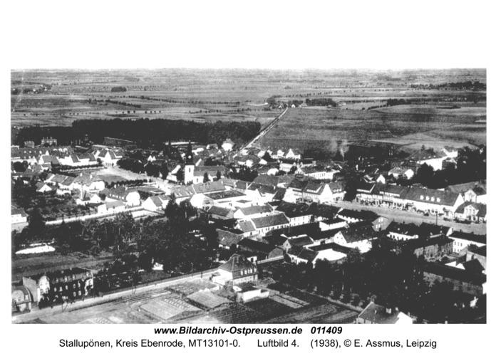 Ebenrode, Ortsansicht Luftbild 4