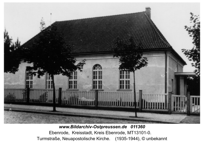 Ebenrode, Neuapostolische Kirche in der Turmstraße