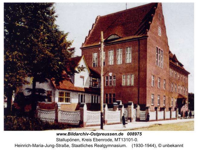Ebenrode, Staatliches Realgymnasium