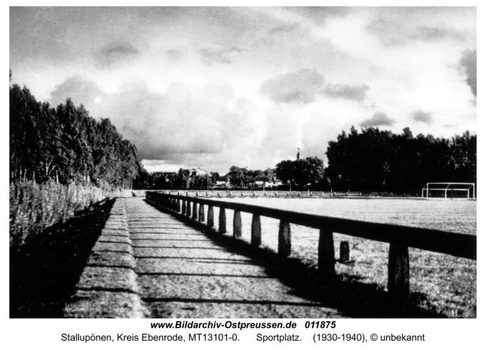 Ebenrode, Sportplatz