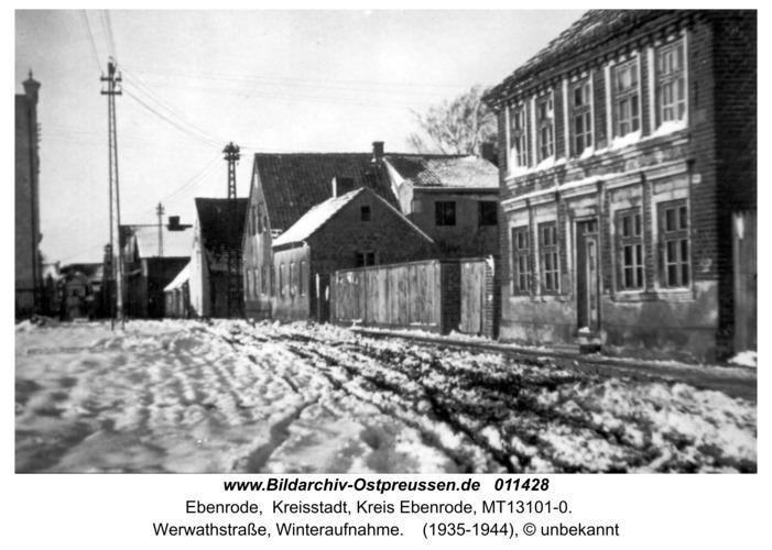 Ebenrode, Werwarth-Straße