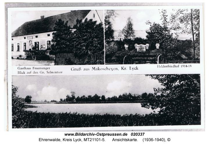Ehrenwalde, Ansichtskarte