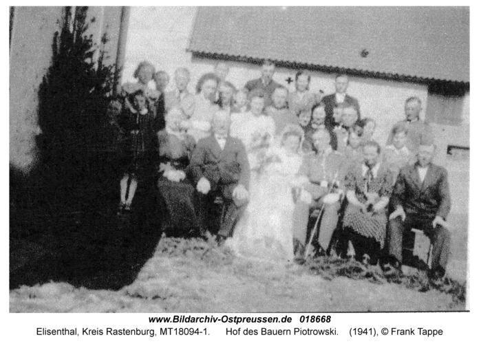 Elisenthal, Hof des Bauern Piotrowski