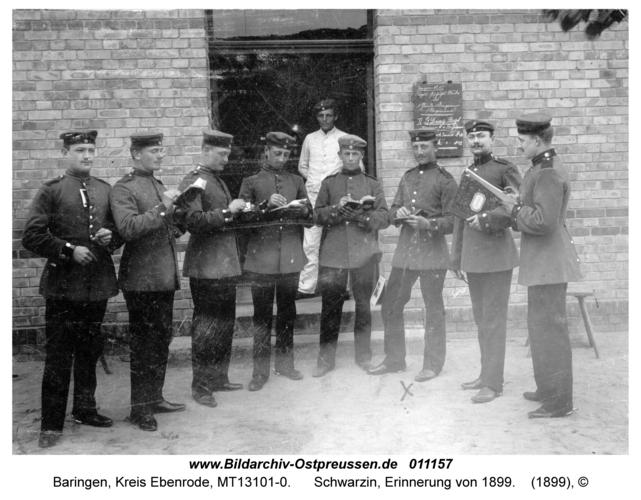 Baringen, Schwarzin, Erinnerung von 1899