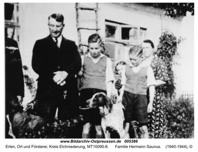 Erlen, Familie Hermann Saunus