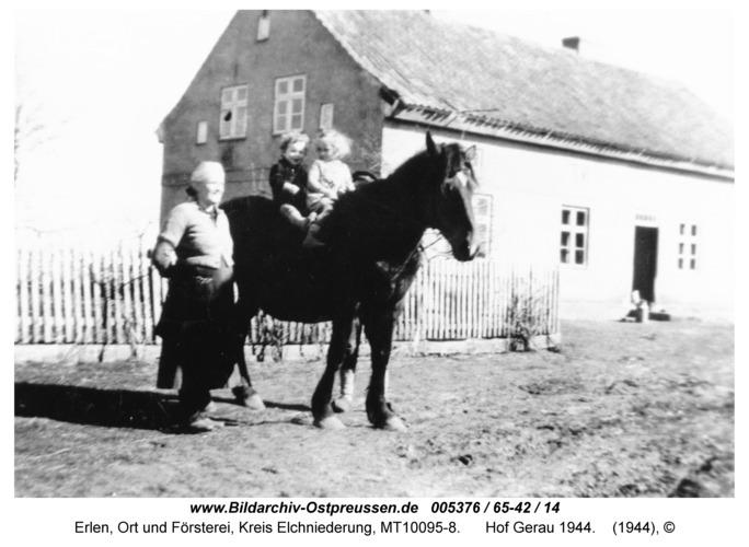Erlen, Hof Gerau 1944