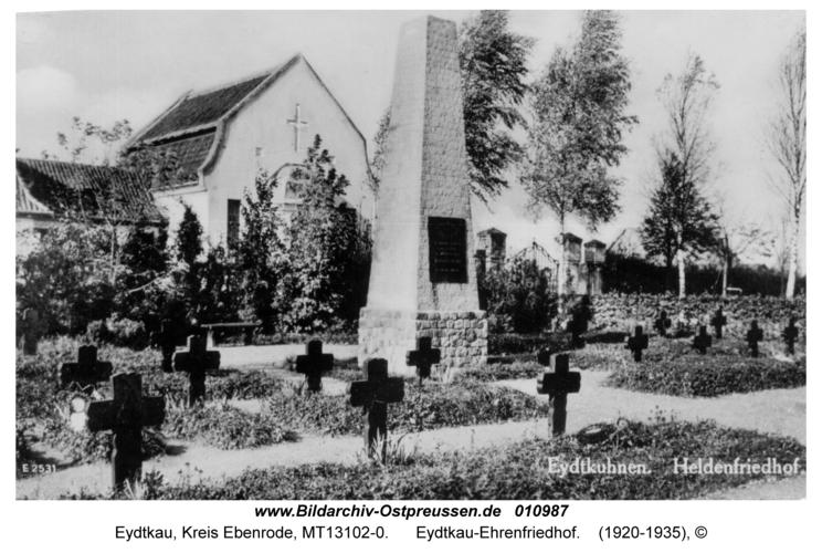 Eydtkau-Ehrenfriedhof