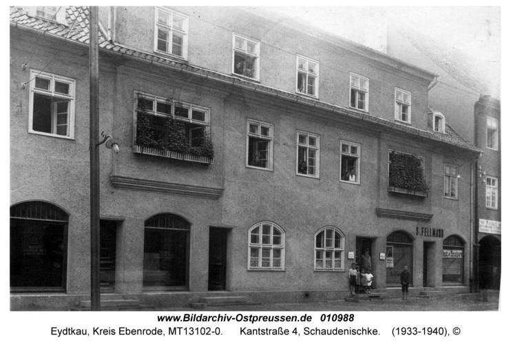Eydtkau, Kantstraße 4, Schaudenischke