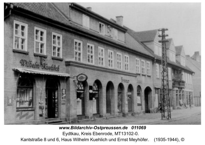 Eydtkau, Kantstraße 8 und 6, Haus Wilhelm Kuehlich und Ernst Meyhöfer