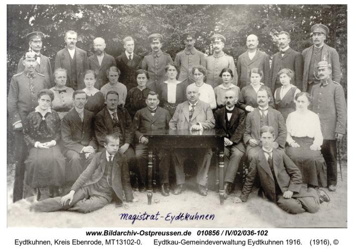 Eydtkau-Gemeindeverwaltung Eydtkuhnen 1916