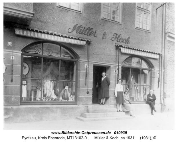 Eydtkau, Müller & Koch, ca 1931