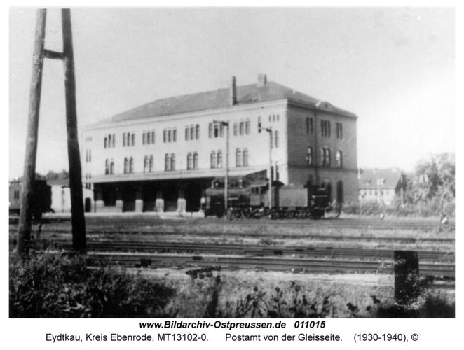 Eydtkau, Postamt von der Gleisseite