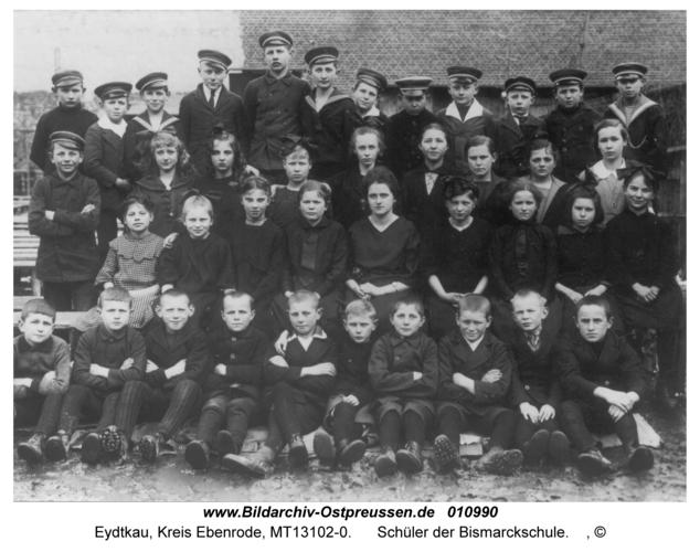 Eydtkau, Schüler der Bismarckschule
