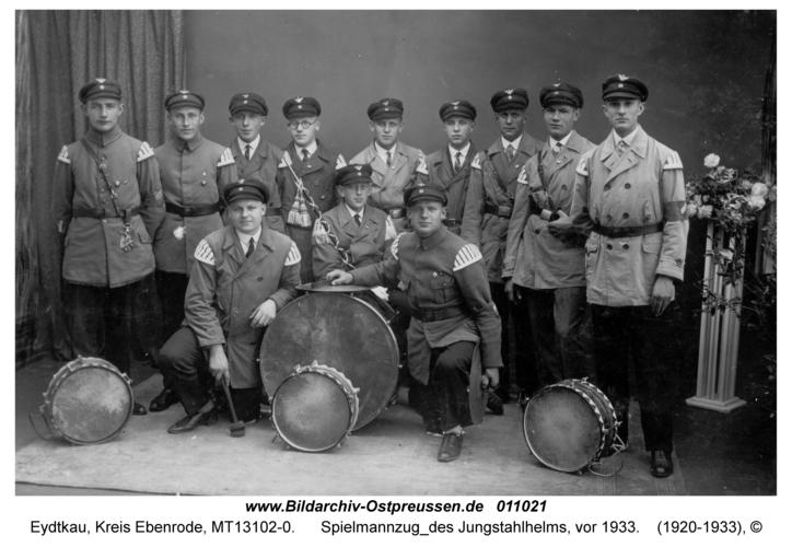 Eydtkau, Spielmannzug des Jungstahlhelms, vor 1933