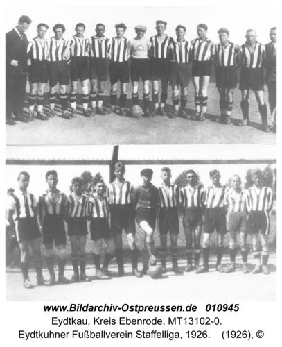 Eydtkau, Eydtkuhner Fußballverein Staffelliga, 1926