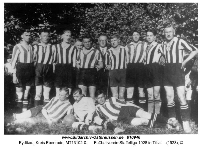 Eydtkau, Fußballverein Staffelliga 1928 in Tilsit