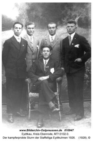 Eydtkau, Der kampferprobte Sturm der Staffelliga Eydtkuhnen 1926