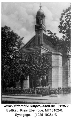 Eydtkau, Synagoge