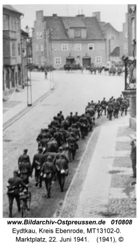 Eydtkau, Marktplatz, 22. Juni 1941