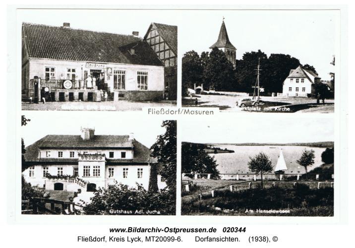 Fließdorf, Dorfansichten