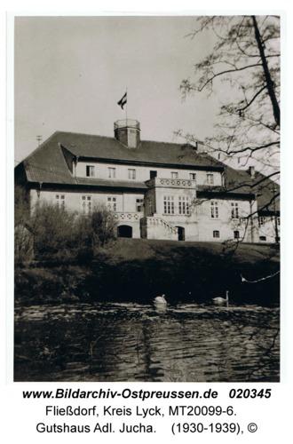 Fließdorf, Gutshaus Adl. Jucha