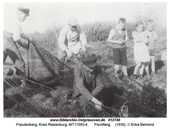 Freudenberg, Fischfang
