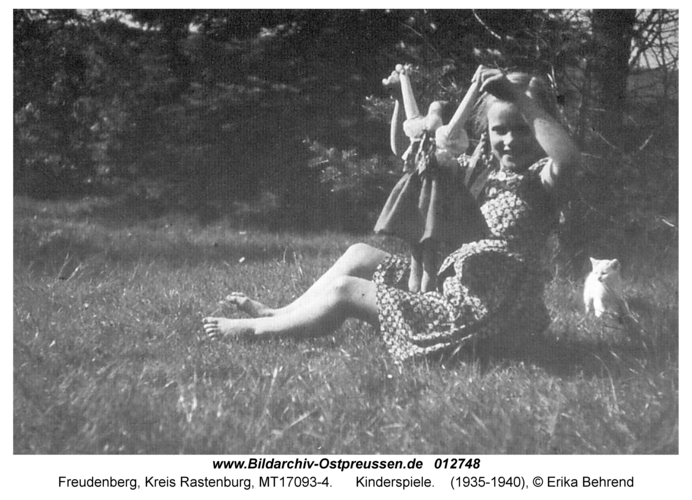 Freudenberg, Kinderspiele