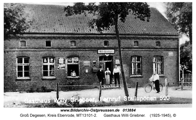 Gross Degesen, Gasthaus Willi Griebner