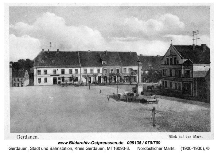 Gerdauen, Nordöstlicher Markt