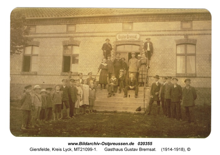 Giersfelde, Gasthaus Gustav Bremsat