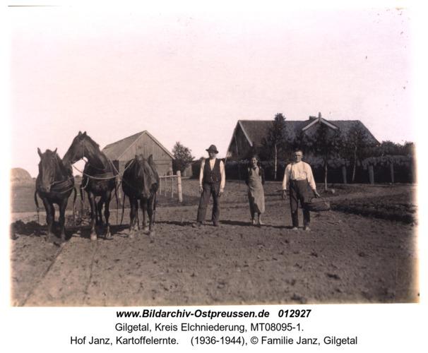 Gilgetal, Hof Janz, Kartoffelernte