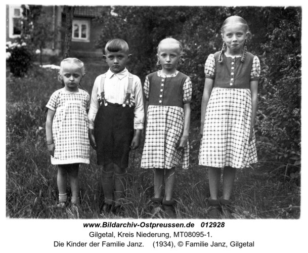 Gilgetal, Die Kinder der Familie Janz