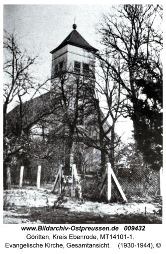 Göritten, Evangelische Kirche, Gesamtansicht