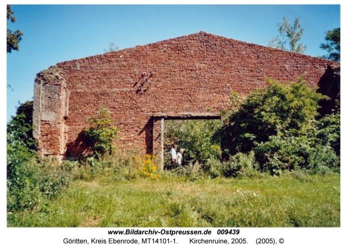 Göritten, Kirchenruine, 2005