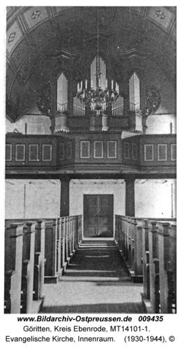 Göritten, Evangelische Kirche, Innenraum
