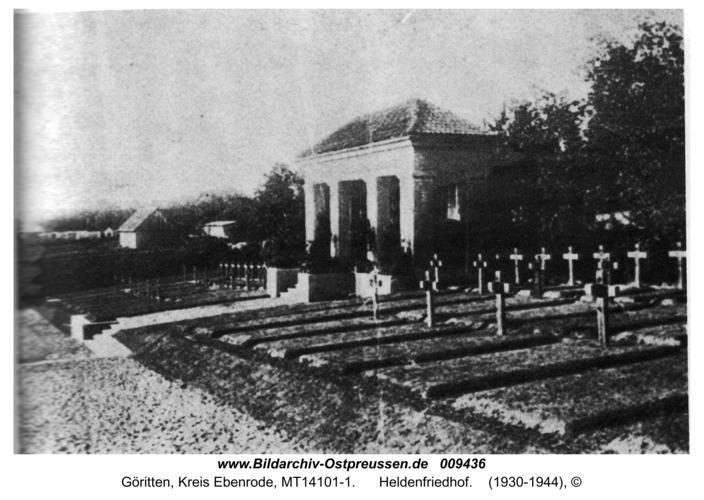 Göritten, Heldenfriedhof
