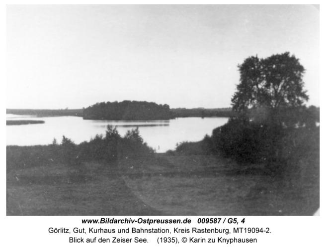 Görlitz, Blick auf den Zeiser See