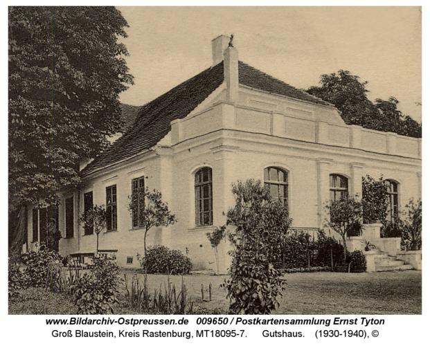 Groß Blaustein, Gutshaus
