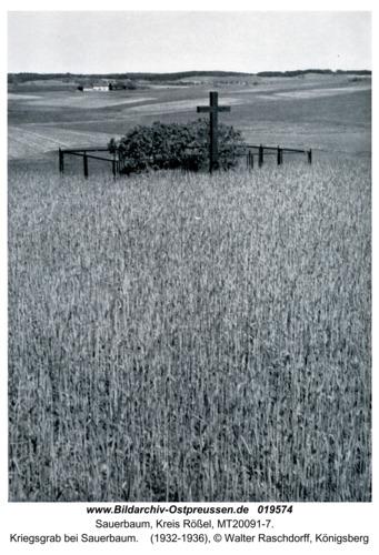 Sauerbaum, Kriegsgrab bei Sauerbaum