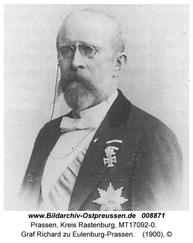 Prassen, Graf Richard zu Eulenburg-Prassen