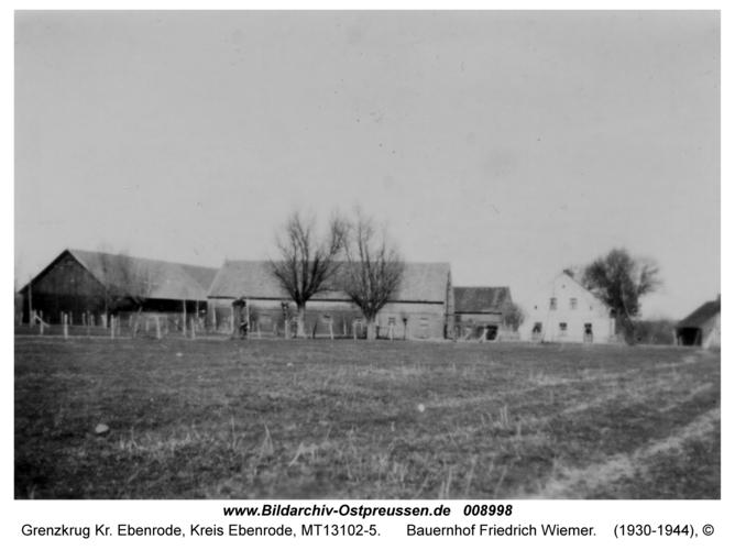 Grenzkrug, Bauernhof Friedrich Wiemer