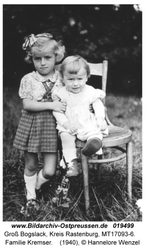 Groß Bogslack, Familie Kremser