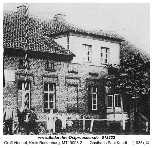 Groß Neuhof, Gasthaus Paul Kundt