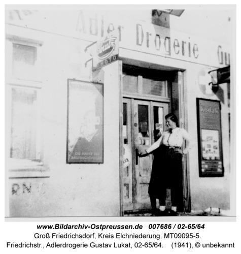 Groß Friedrichsdorf, Friedrichstr., Adlerdrogerie Gustav Lukat, 02-65/64
