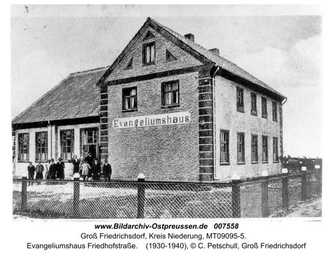 Groß Friedrichsdorf, Evangeliumshaus Friedhofstraße