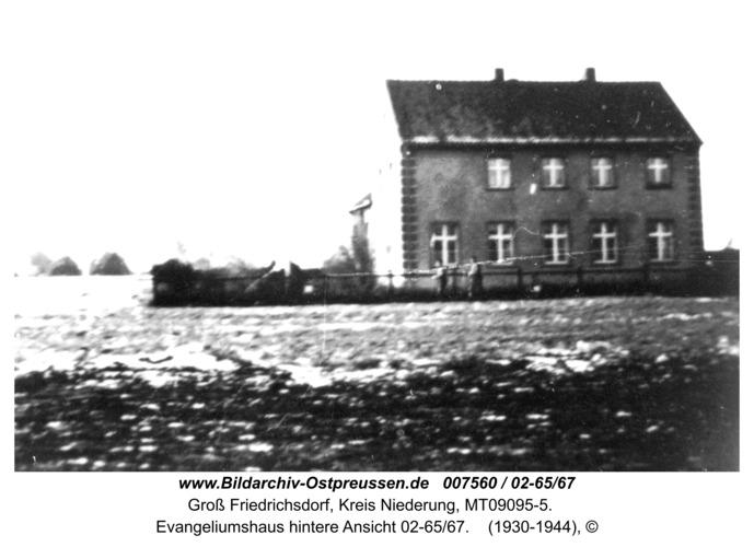 Groß Friedrichsdorf, Evangeliumshaus hintere Ansicht 02-65/67