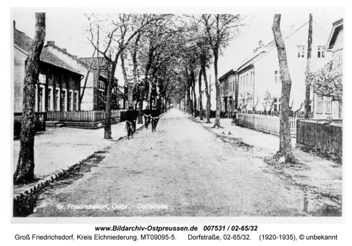 Groß Friedrichsdorf, Dorfstraße, 02-65/32