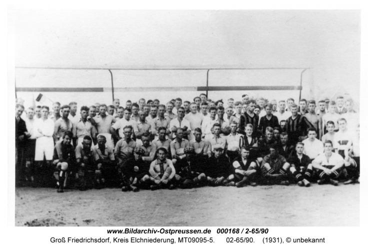 Groß Friedrichsdorf, Fußballpokalturnier 1931, 02-65/90